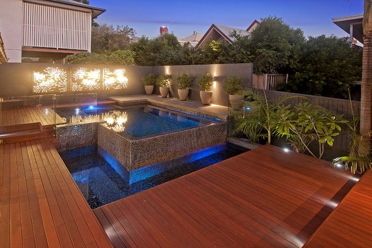 Decking designs brisbane timber deck design decking for Pool design brisbane