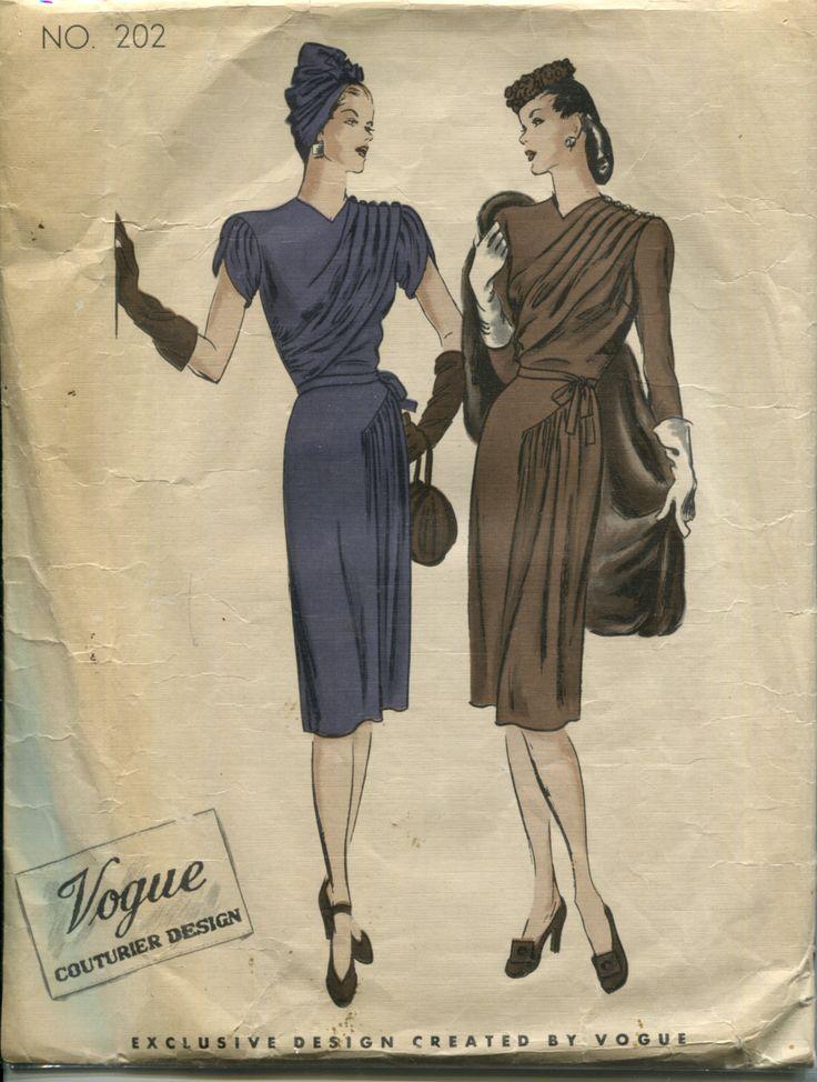 270 best retro fashion 1940s vogue images on pinterest