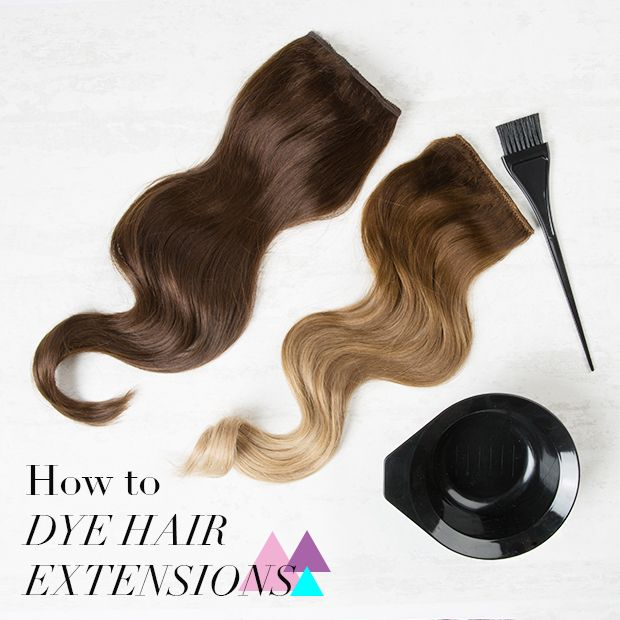 Everything you need to know about dyeing hair extensions http://dirtylooks.com/blog/how-to-dye-hair-extensions