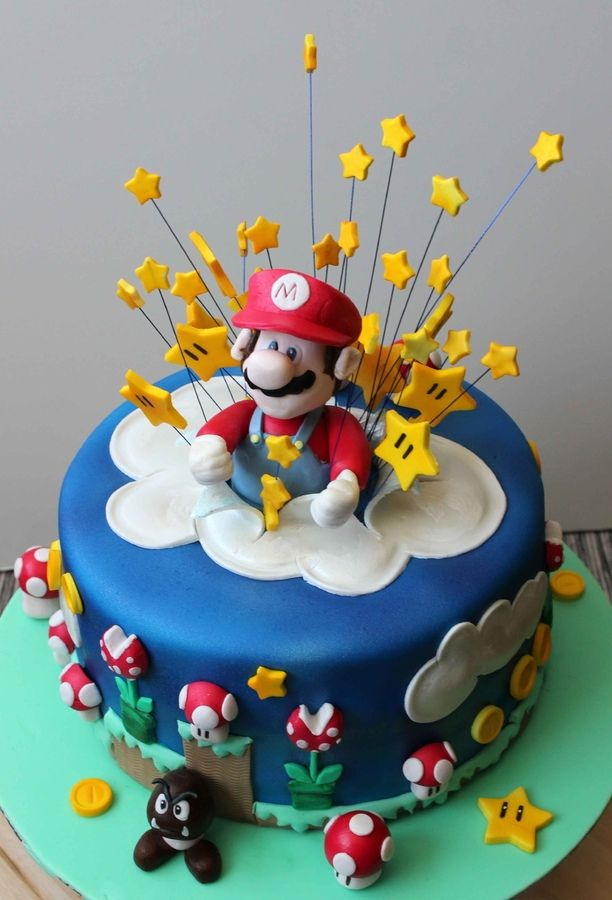 24 besten super mario torte bilder auf pinterest super mario kuchen zucker und geburtstage. Black Bedroom Furniture Sets. Home Design Ideas