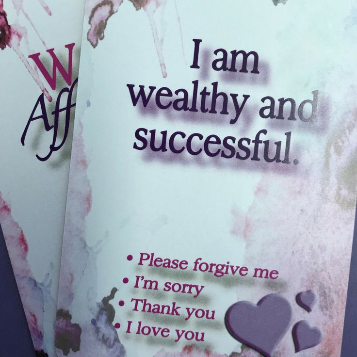 Daily wealth affirmations cards to help manifest t…