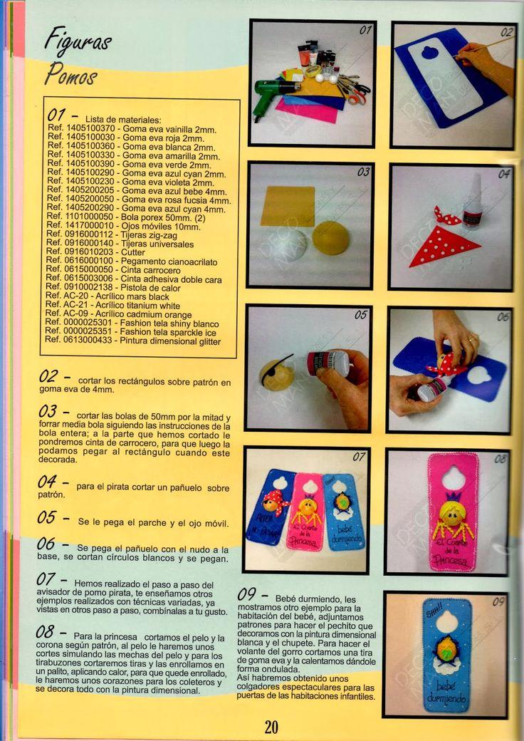 Revistas de Foamy gratis: hacer fofuchas paso a paso 20