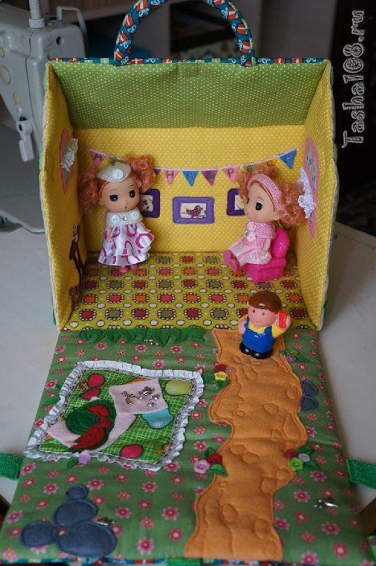 Мягкий домик для кукол » Жизнь одуванчика