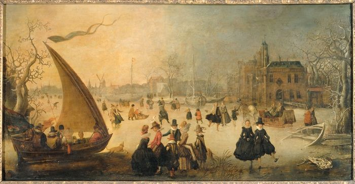 David Vinckenboons. Зимние развлечения (1611, Rijksmuseum, Amsterdam)