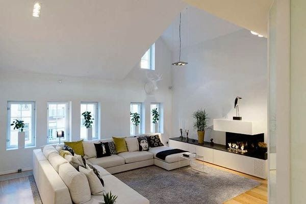 VINTAGE & CHIC: decoración vintage para tu casa · vintage home decor: Un ático-duplex en blanco y negro en Estolcolmo · A b&w duplex penthouse in Stockholm