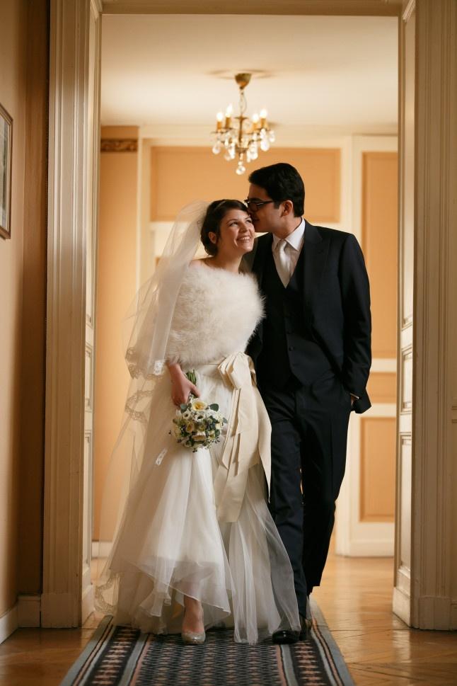 je me prépare pour un mariage d'hiver  :)