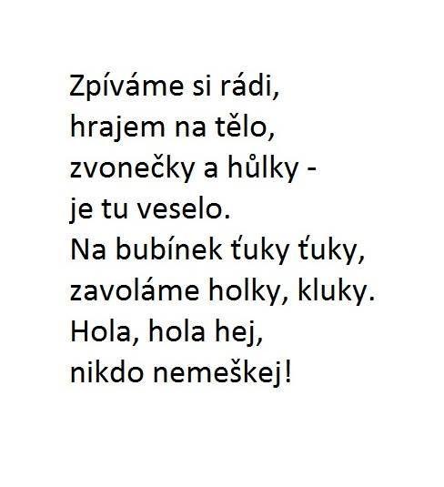 Melodie - Tluče bubeníček: