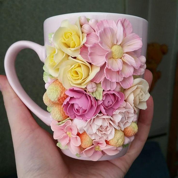 Цветы из глины декорирование, кварца цветок купить