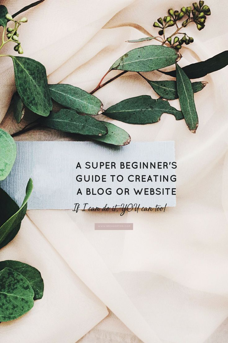 Do you want to know how to set up your very own blog, but you have absolutely NO idea where to even start? Let me walk you through the very steps that I took to create my own website and blog, having no experience what so ever!