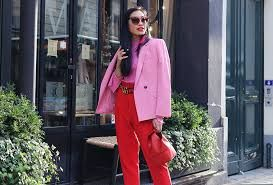 pink and red look amazing together