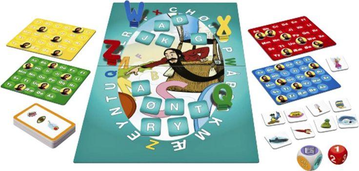 Skæg med bogstaver-spillet Det er skægt at lære bogstaver med hr. Skæg!I dette nye spil for førskolebørn lærer de små at huske og kende forskel på bogstaverne. Børnene lærer også, hvordan bogstaverne lyder, og om begyndelsesbogstaver for visse ord.Kast den kulørte terning, og udfør opgaven, som terningen viser. For hver klaret opgave, vinder du en Skæg-brik til din bogstavplade.Når alle brikkerne ligger ude hos spillerne, er spillet slut. Vinderen er den, der har flest Skæg-brikker.For 2-4…