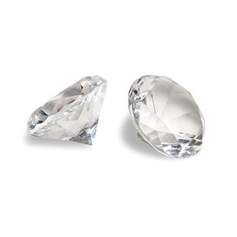 Something Blue - David Tutera - Bridal Collection - Large Faceted Acrylic Diamonds - Clear (Pack of 12), R170.00 (http://www.somethingblue.co.za/david-tutera-bridal-collection-large-faceted-acrylic-diamonds-clear-pack-of-12/)