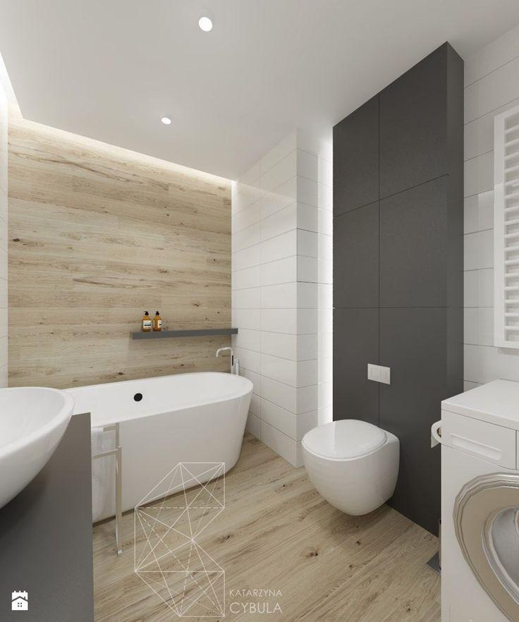 łazienka duża - zdjęcie od INNers - architektura wnętrza - Łazienka - Styl Nowoczesny - INNers - architektura wnętrza