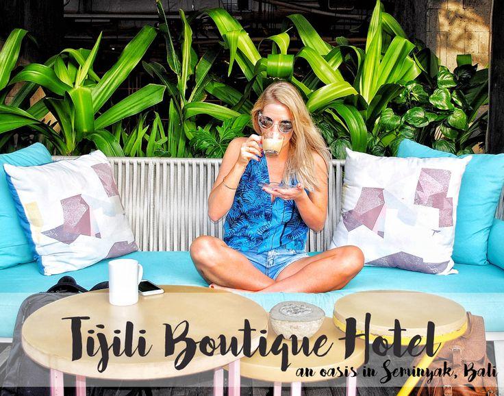 Tijili Boutique Hotel #Seminyak #Bali #TijiliHotel