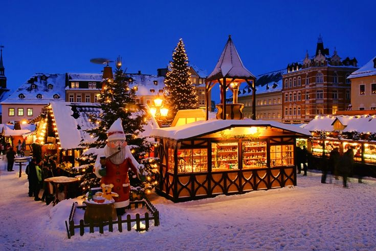Germany Christmas Market. Repinned by www.mygrowingtraditions.com