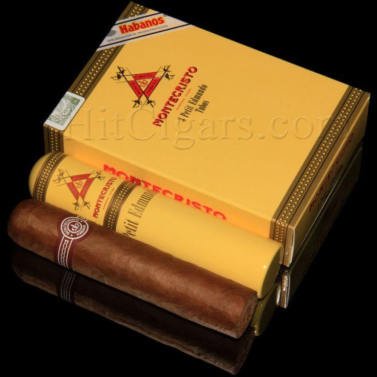 Montecristo Petit Edmundo TUBOS (pack of 3 cigars) – Cuban Cigars