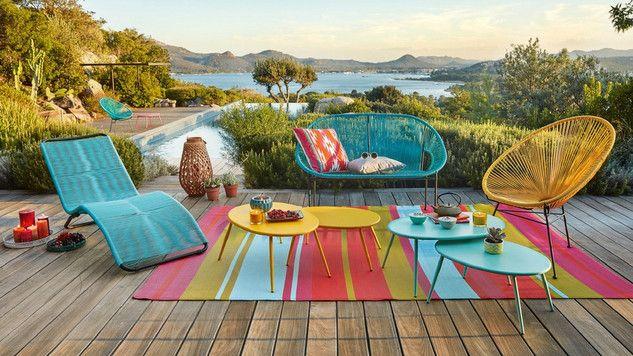 Quelles couleurs choisir pour des meubles de jardin ? - M6   Pinterest