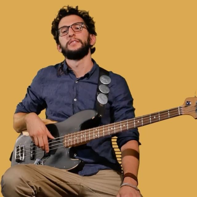I want music to be my livelihood, and eventually get to where I want to be. Mattia Gadda, Bass player - I RadioAut #MyMVision #MyMusicVision #community #musicians