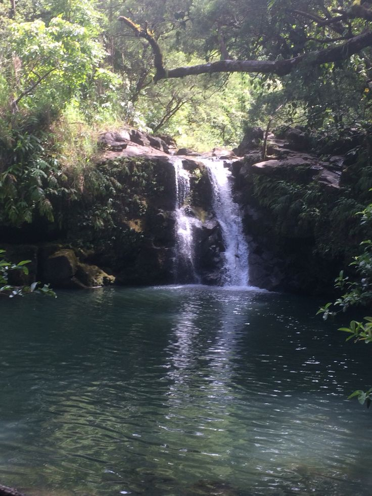 Waterfalls, Road to Hana, Maui