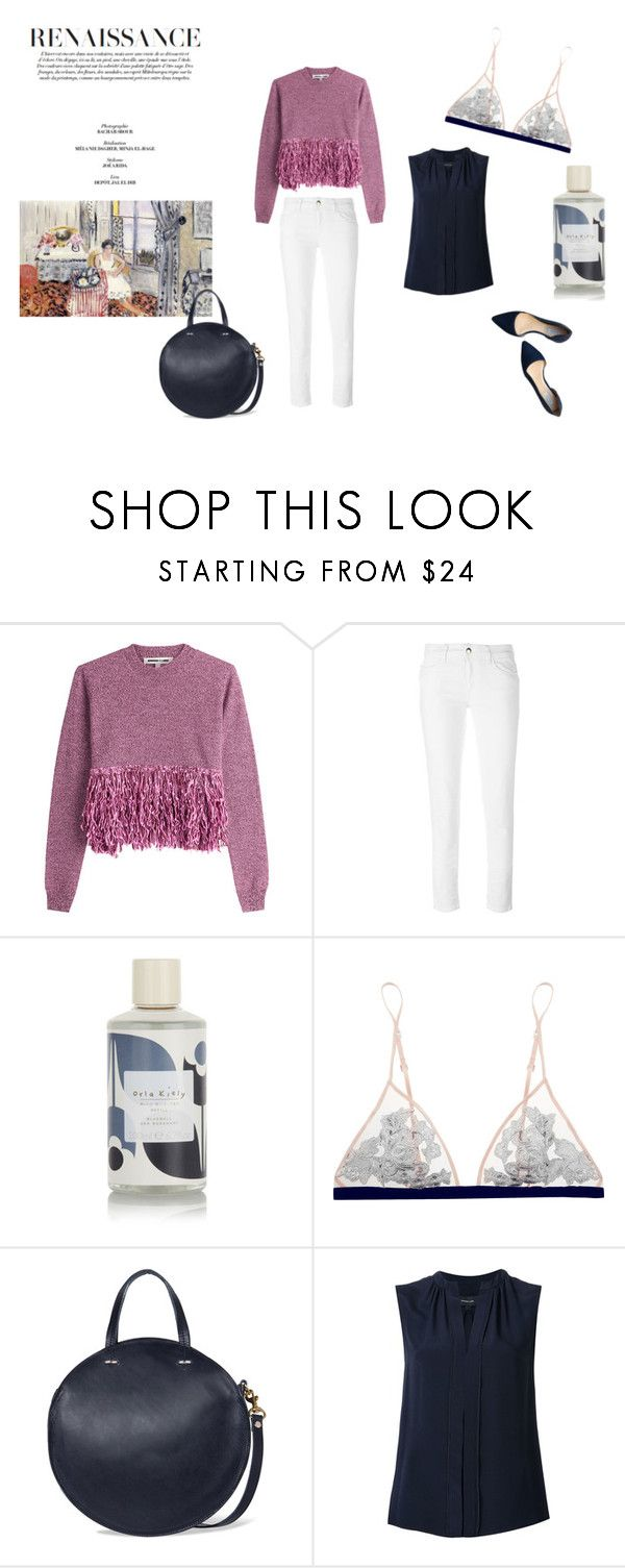 """""""City Easter"""" by petiteclaire ❤ liked on Polyvore featuring McQ by Alexander McQueen, Just Cavalli, Orla Kiely, La Perla, Clare V., Derek Lam and Cole Haan"""