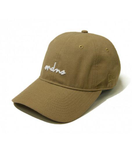 MDNS Script Strapback Hat (Brown)  #MDNS  #madness #dadcap #headwear #streetwear #fashion