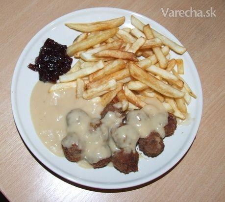 Mäsové guľky a la Ikea Köttbullar - švédska kuchyňa (fotorecept)