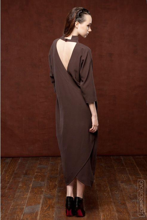 Платье с открытой спинкой - J.Perekriostova