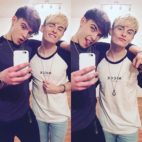 Rye and Andy. And that's how we take a mirror selfie kids