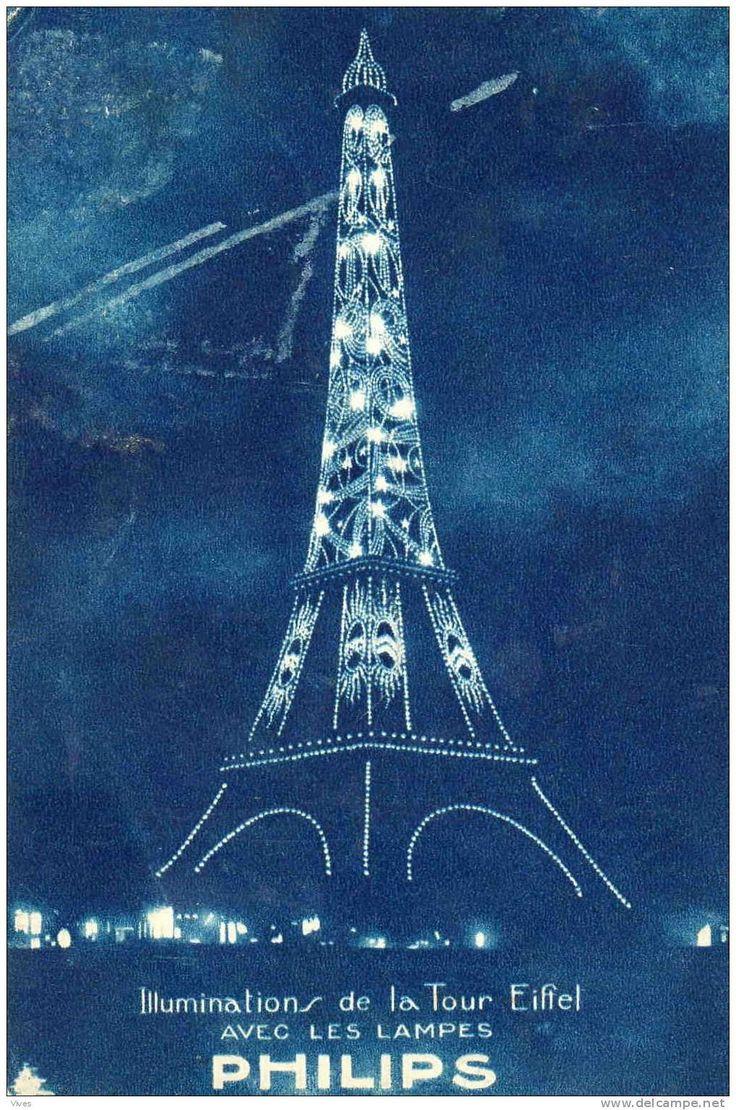 Les illuminations historiques de la Tour Eiffel