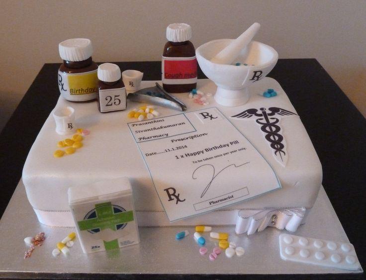 pharmacy cupcakes images | pharmacist birthday cake London