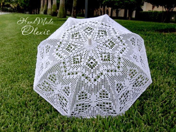 Irish crochet &: Зонты 2
