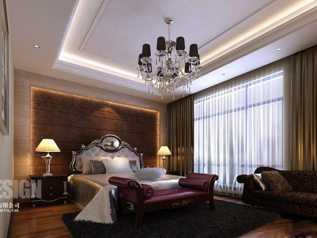 Luxurious Chinese Bedroom Design