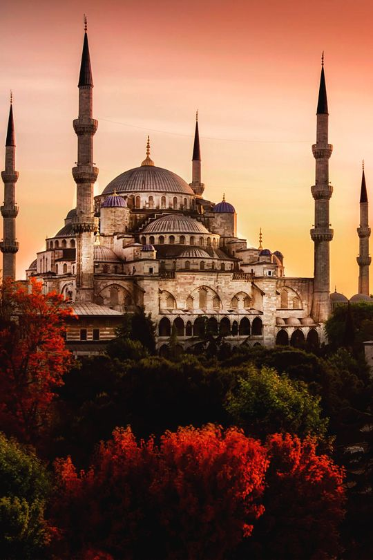 Sultan Ahmed Mosque (Blue Mosque), Istanbul, Turkey by Samet Guler