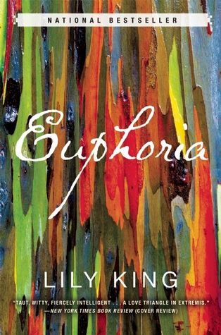 Euphoria. A gentle & quite fascinating book, outside of my normal genres but I liked it very much.