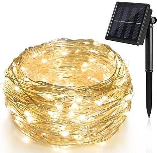 Solar String Lights 200 LED 72 ft Waterproof 8 Modes Durable Fairy Outdoor Decor #Ankway