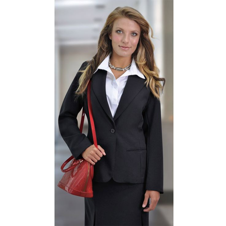 Rosa Corporate Jacket Brand: DUCHESS Has Jetted pockets and is full lined.