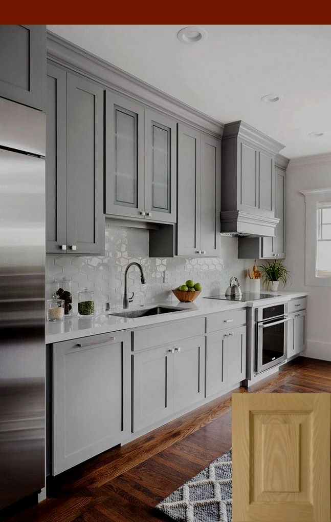 gray painted kitchen cabinets ideas cabinets in 2019 kitchen rh pinterest com