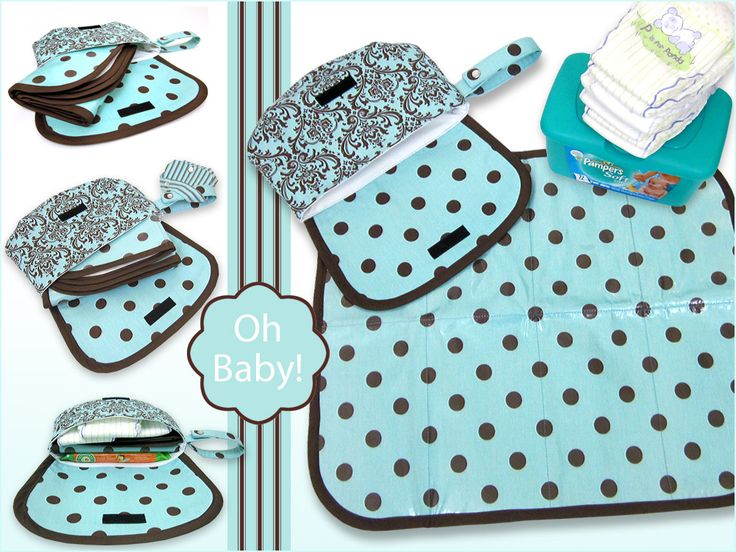 Travel Diaper Case & Changing Pad | Sew4Home