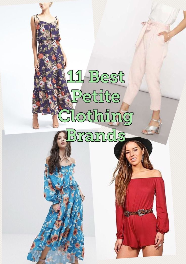11 Best Petite Clothing Brands! Ohh yes Great Brands for us ! We can find amazing options, no more long pants or dresses! Enjoy