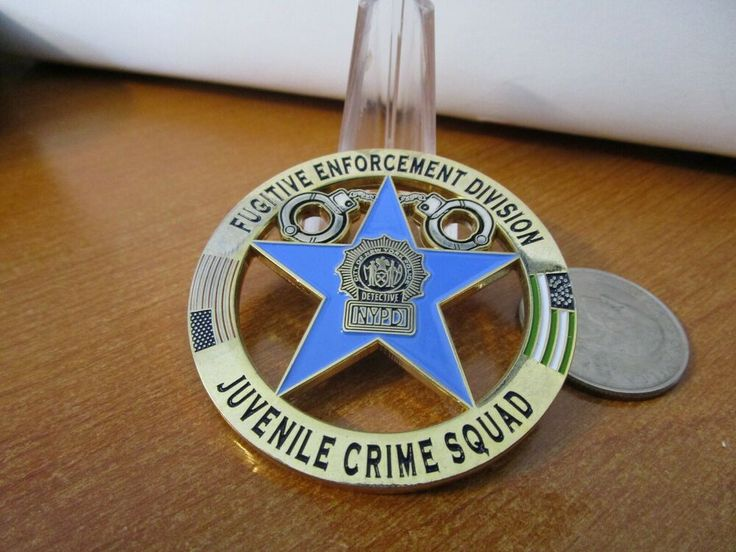 Pin on NYPD / US Marshal Fugitive Task Force Coins