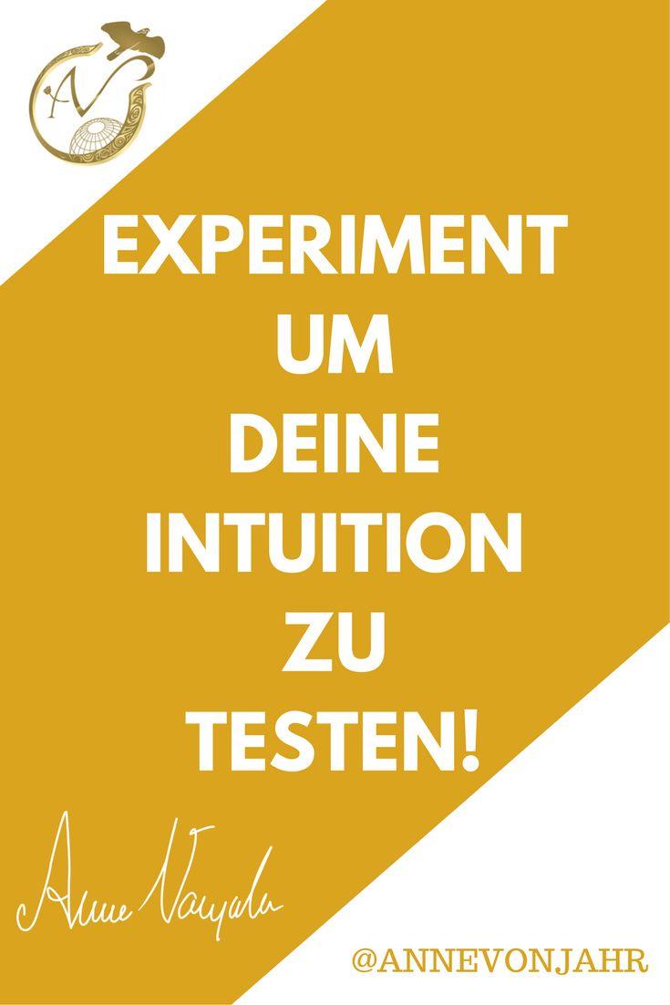 Wie ich meine Intuition trainiert habe, erfährst Du in diesem Video...