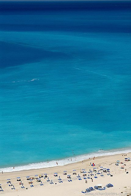 Myrtos Beach, Kefalonia, Greece...spectacular water