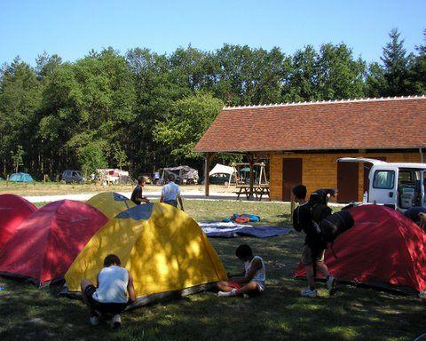 Domaine du Ciran Camping Ménestreau-en-Villette 16 augustus 2013 Frankrijk
