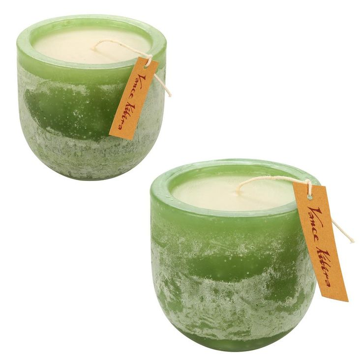 Embrace the old-fashioned romance of a flickering candle from Vance Kitira. Forest lodge style joined with long-burning candles make for a thoughtful gift or a home accent certain to delight the senses.