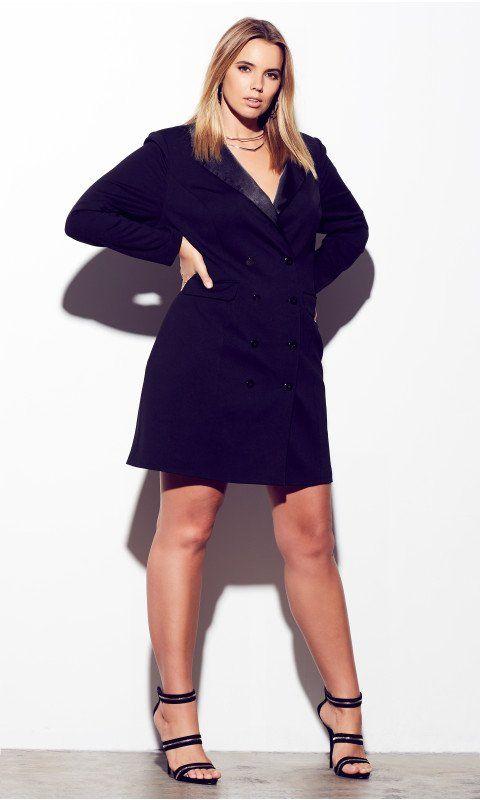 d5d21664669 Shop Women s Plus Size Tuxedo Dress - Dresses