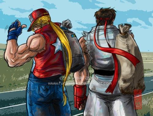 Terry Bogard and Ryu
