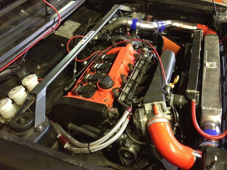 Mk1 Golf 1 8t 20v Engine Bay