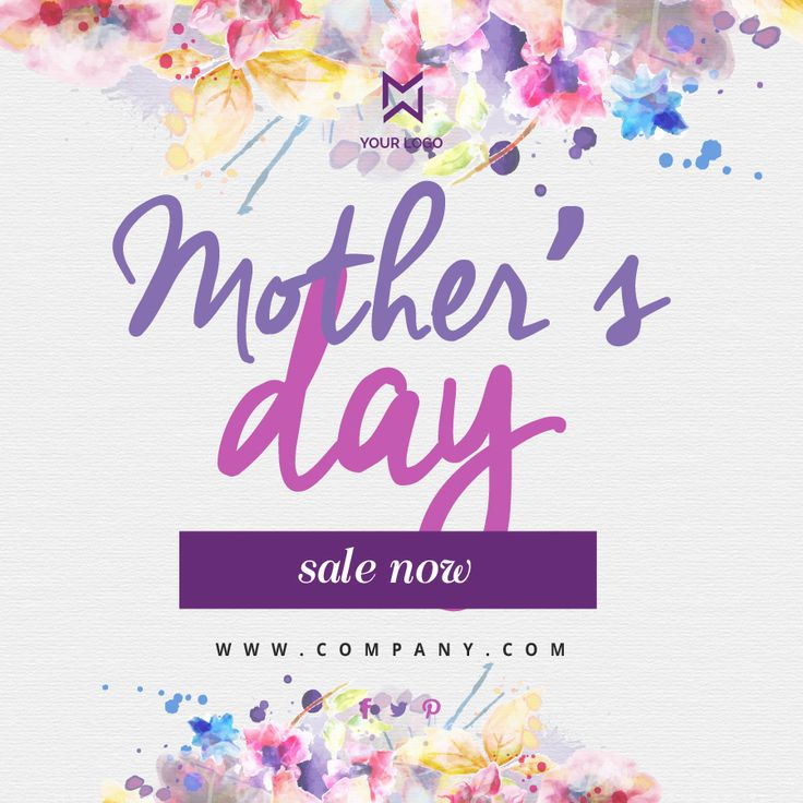 A mother is always important, give her a perfect wish with these banners #promo #design #banners #template
