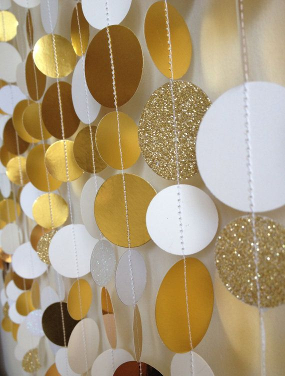 Gold Sparkle Wedding/ Event Photo Booth Backdrop by SonOfThom