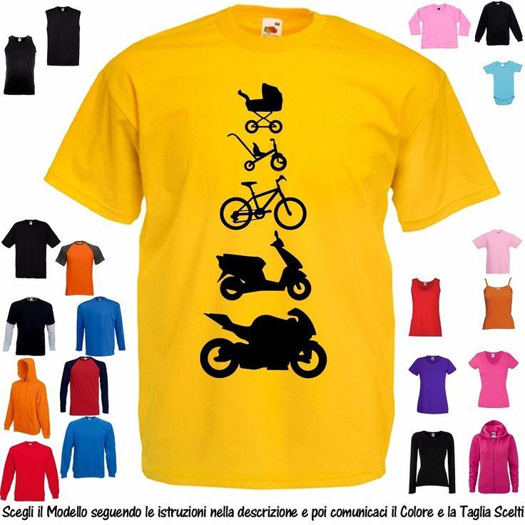 Nuovi arrivi Design già disponibile tramite contatto diretto, online sarà disponibile nei prossimi giorni #tshirt #evo #evolution #evolutions #moto #bici #parodia #parody #motoevolution #movida #party #festa #disco #discoteca #vespa #fashion #evoluzione #trendy #motoevo #italianstyle #glamour #trycicle #scooter #wlavita #cool #bike #stroller #triciclo #passeggino #funny    Personalizzala come preferisci (modello, colore, taglia e colore stampa)